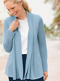 Open Drape Cardigan