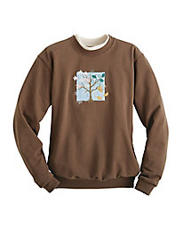 Morning Sun Embroidered Sweatshirt