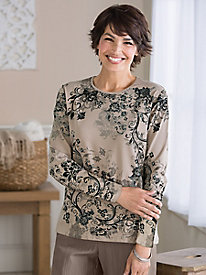 Neutral Impressions Top by Koret®