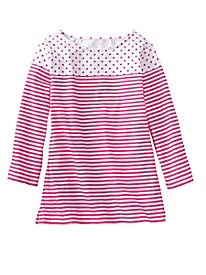 Dots and Stripes Tee