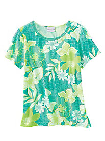 Acapulco Tropical Tee by Alfred Dunner�