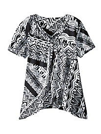Alfred Dunner� Graphic Designs Top