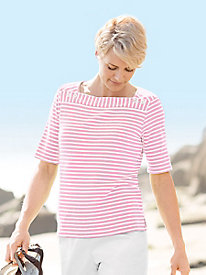 Catalina Bay Elbow-Sleeve Tee