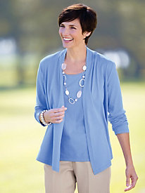 Lovely Layers Open Cardigan