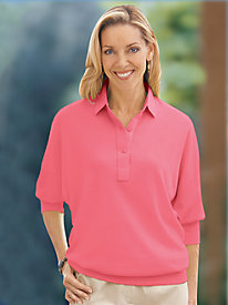 Dolman Sleeve Polo by Leon Levin�> <meta name=