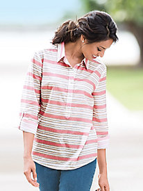 Cotton Lawn Popover Shirts