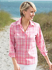 Foxcroft Plaid Shirt