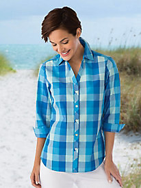 Foxcroft� Multi-Check Shirt