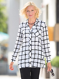 Windowpane Tunic