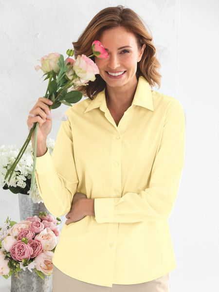 661dc3c258b48 Solid Perfect Shirt by Foxcroft®