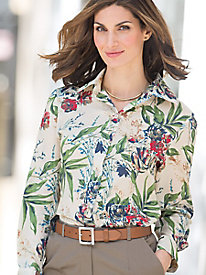 Meadow Song Voile Blouse