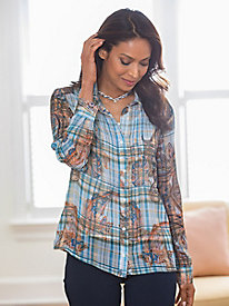 Pattern Play Blouse