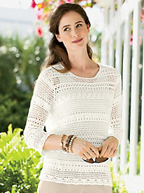 Hand-Crochet Sweater