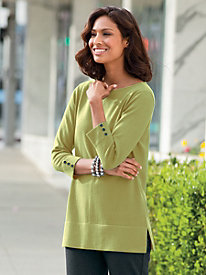 Good To Go Tunic Sweater