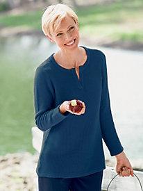 Traveler's Cotton Pullover Sweater