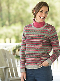 Fair Isle Pullover $49.97 AT vintagedancer.com