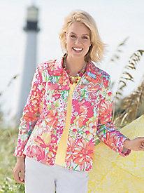 Signature Floral Jacket