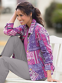 Moroccan Patch Jacket