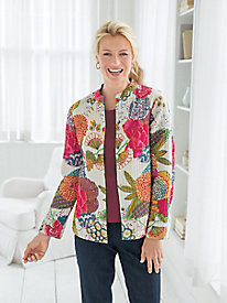 Lotus Blossom Reversible Jacket