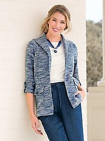 Relaxed Tweed Jacket
