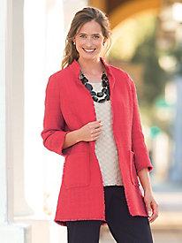 Tweed Fingertip Jacket