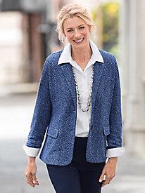 Herringbone Knit Jacket