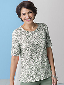 Thistle Print Tee by Koret®