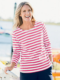 Statement Stripe Tee
