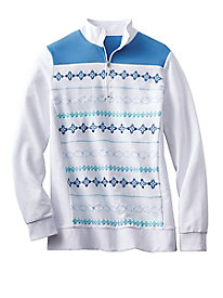Embroidered Pullover by Koret Sport?