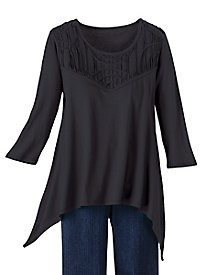 Trends to Flatter Tunic