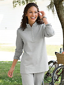 Style-On-The-Go Henley 8924426