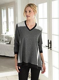 Colorblocked Swing Sweatshirt