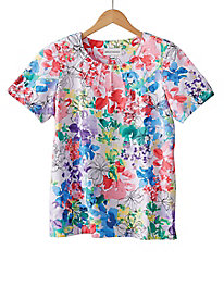 Summer Floral Tee by Alfred Dunner®