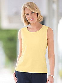 Shelf-Bra Sleeveless Tee