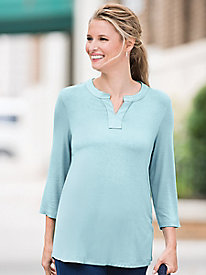Go-To Pleat-Back Tunic