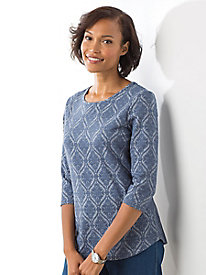 Knit Jacquard Top