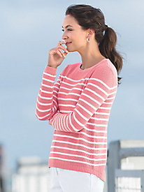 Mini Shaker Striped Sweater