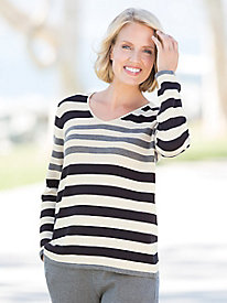 Variegated Stripe Pullover