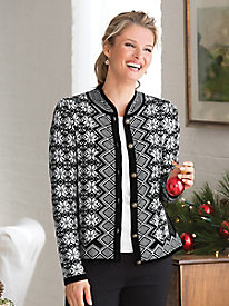 Yuletide Cardigan