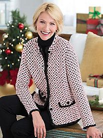 Shop 1960s Style Coats and Jackets Colette Cardigan $79.99 AT vintagedancer.com