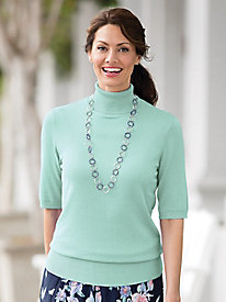 Short-Sleeve Turtleneck Hepburn