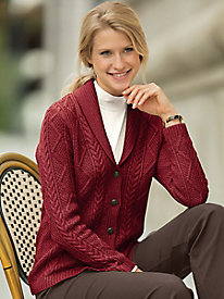 Cape Ann Shawl Collar Sweater