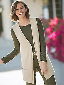 Tunic Sweater Vest