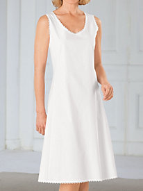 Classic Full Slip With Edging Detail