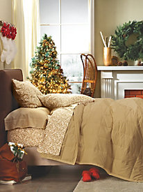 All Seasons Calico Flannel Pillowcases (Set of 2)