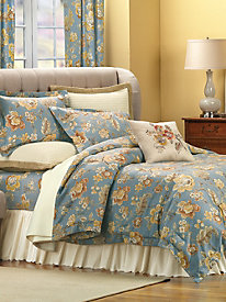 Avondale Comforter, Sheet Set and Window Panels