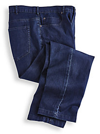 Men Elastic Waist Jeans