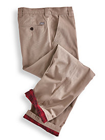 Woolrich� Flannel-Lined Chinos