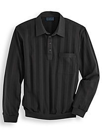 Long Sleeve TropiCool� Tone-on-Tone Shirts