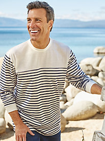 Scandia Woods Long-Sleeve Stripe Crew